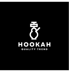 Hookah smoking shisha tobacco brand for your vector image