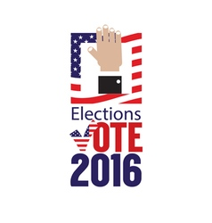Usa elections vote 2016 concept vector
