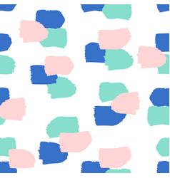 Abstract brush strokes pattern vector