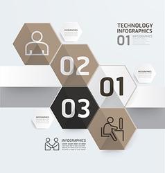 Infographic template modern design vector