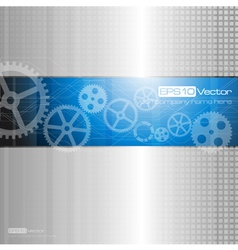 Web and mobile interface graphic template vector image
