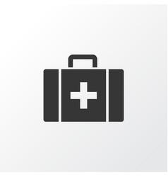 Case icon symbol premium quality isolated chest vector