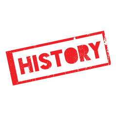 History rubber stamp vector