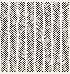 Seamless pattern with hand drawn brush strokes vector