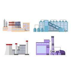 1 factory color 3 vector image vector image