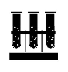 Test tubes icon image vector