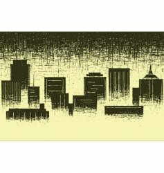 worn city vector image