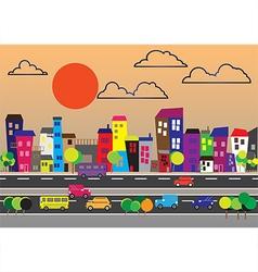 200715 city landscape vector