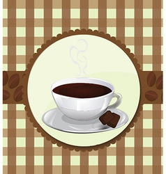 Menu for coffeehouse vector