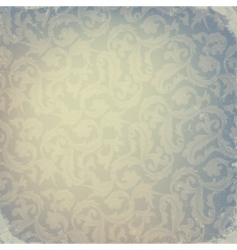 Abstract damask design vector