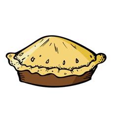 pie vector image vector image