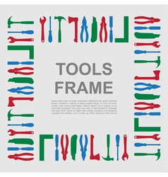 tools frame 3 vector image vector image