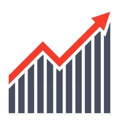 Business profit concept vector