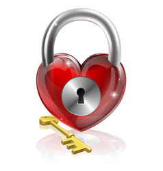 key to your heart vector image