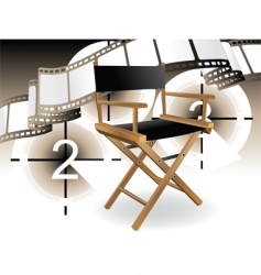 movie set vector image