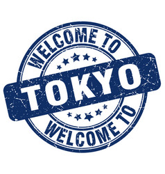 Welcome to tokyo vector