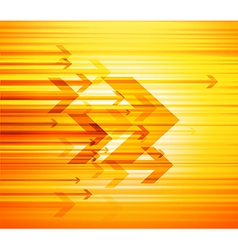 Abstract with arrows and place for text vector image vector image
