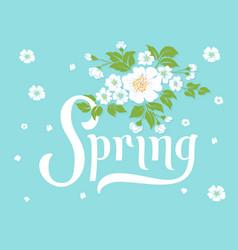Elegant spring invitation card royalty free vector image elegant spring invitation card vector image stopboris Image collections