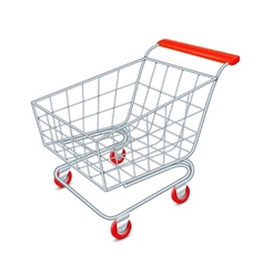Shopping cart concept vector image vector image