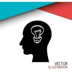 think people design vector image