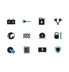 Tools duoicons on white background vector