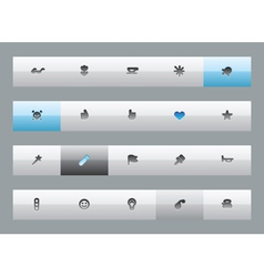 Miscellaneous buttons vector image