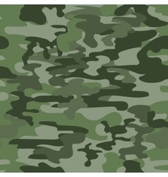 Seamless camouflage pattern in green vector