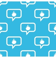 Fire message pattern vector