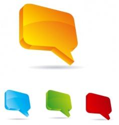 talk vector image