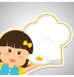 Menu kids icon design vector