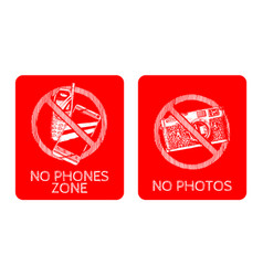 prohibition sign vector image