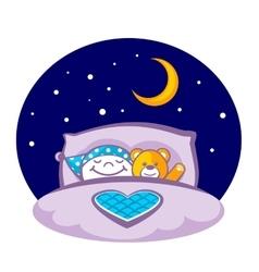 Sleeping Child vector image vector image