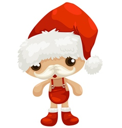 Doll santa claus vector
