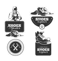 Shoes repair vector
