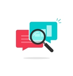 Statistics research icon analysis data vector