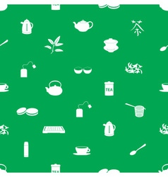 Tea icons pattern eps10 vector