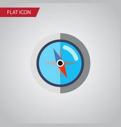 Isolated orientation flat icon geography vector