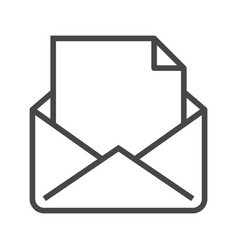 Mail with massage vector