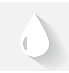 Drop icon vector