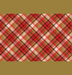 Abstract tartan seamless pixel pattern vector