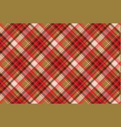 Abstract tartan seamless pixel pattern vector