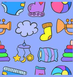 Element baby doodles vector