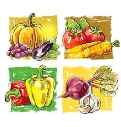 fresh farm vector image vector image