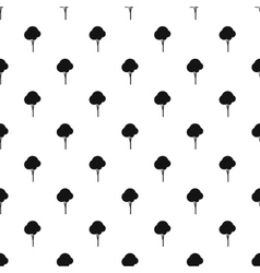 Tree pattern simple style vector