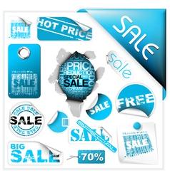 sale tickets vector image