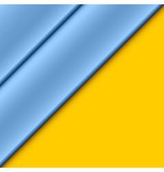 Blue panels vector image
