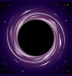 Black hole background vector