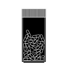 Medication icon image vector