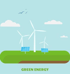 Green energy vector