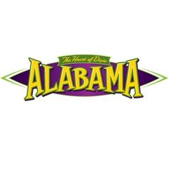 Alabama the heart of dixie vector